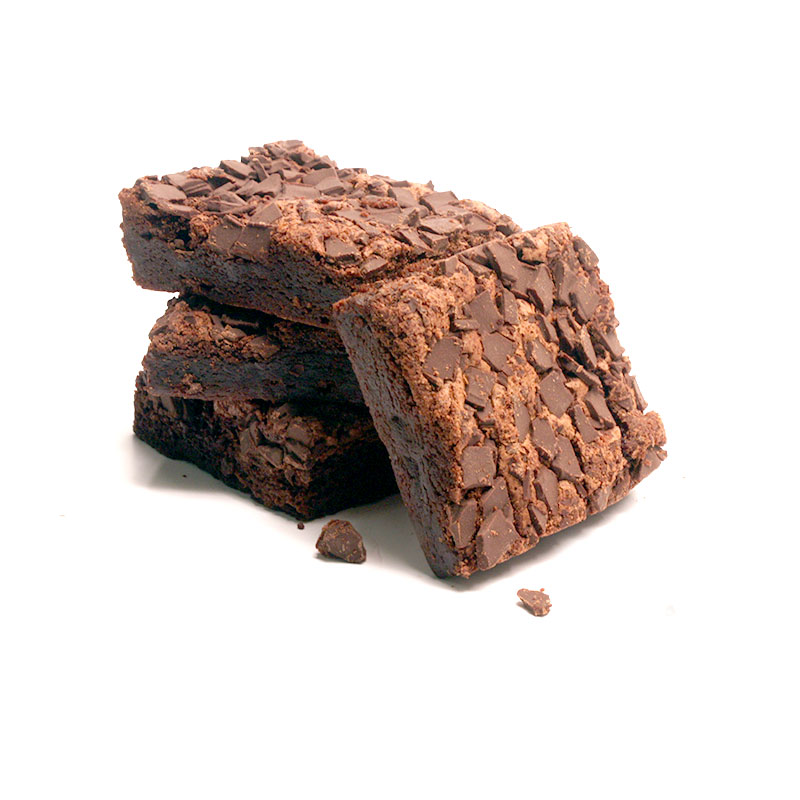 Four brownies